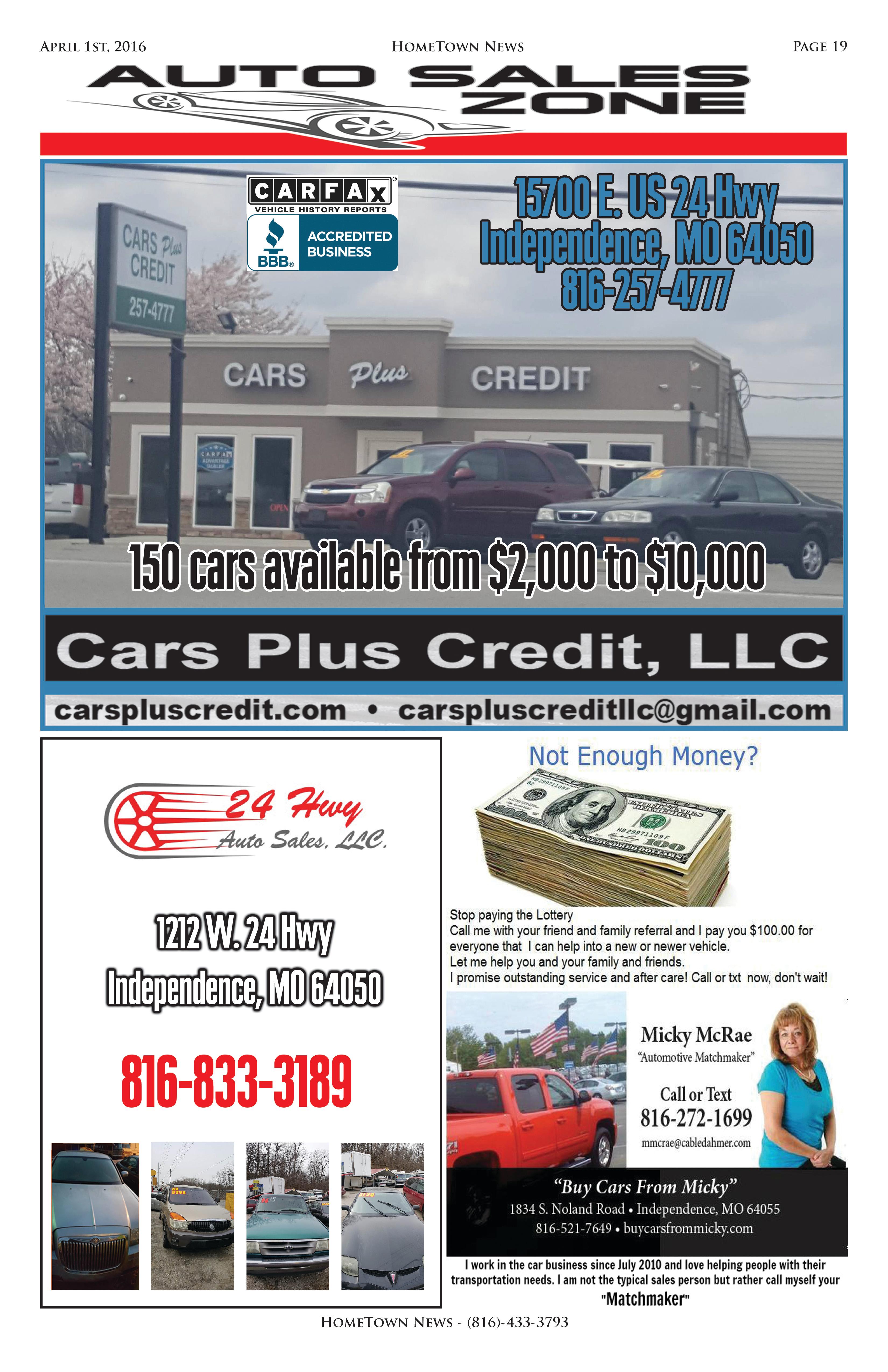 HTN9 - 19 - Auto Sales