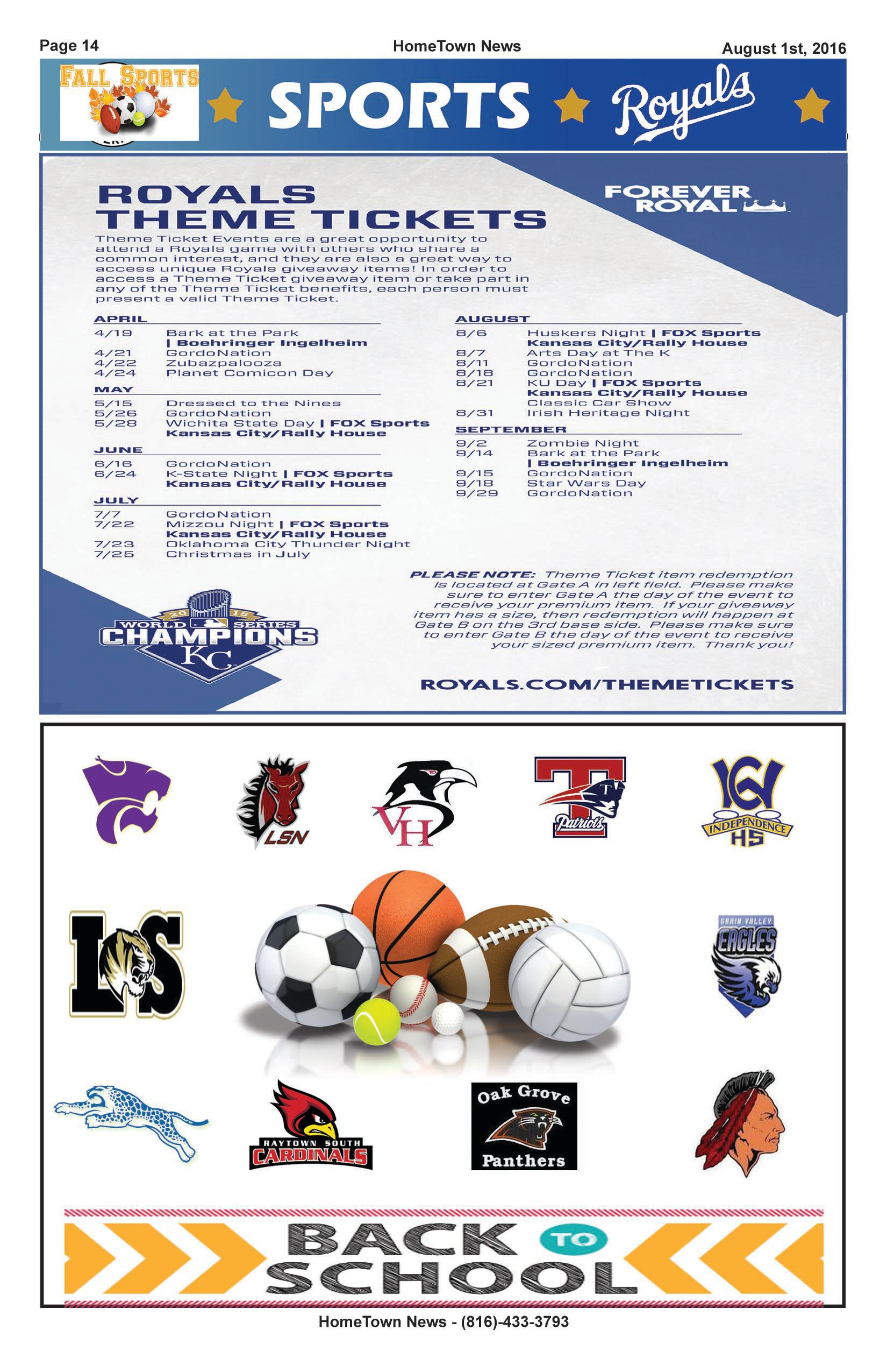 HTN13 - 14 -  Sports