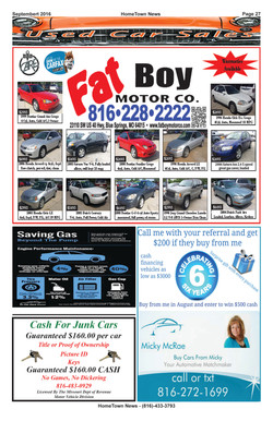 HTN14 - 27  Auto Sales