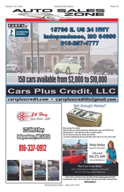 HTN8 - 19 - Auto Sales