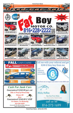 HTN13 - 19 - Auto Sales