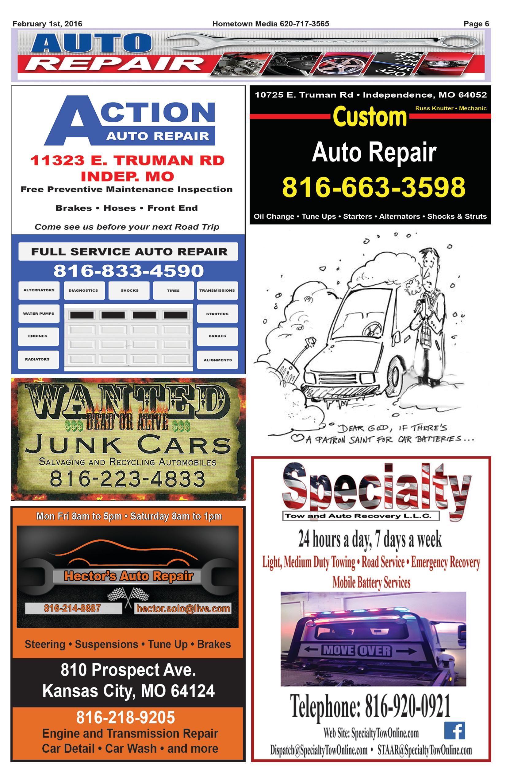 Page 6 Auto Repair