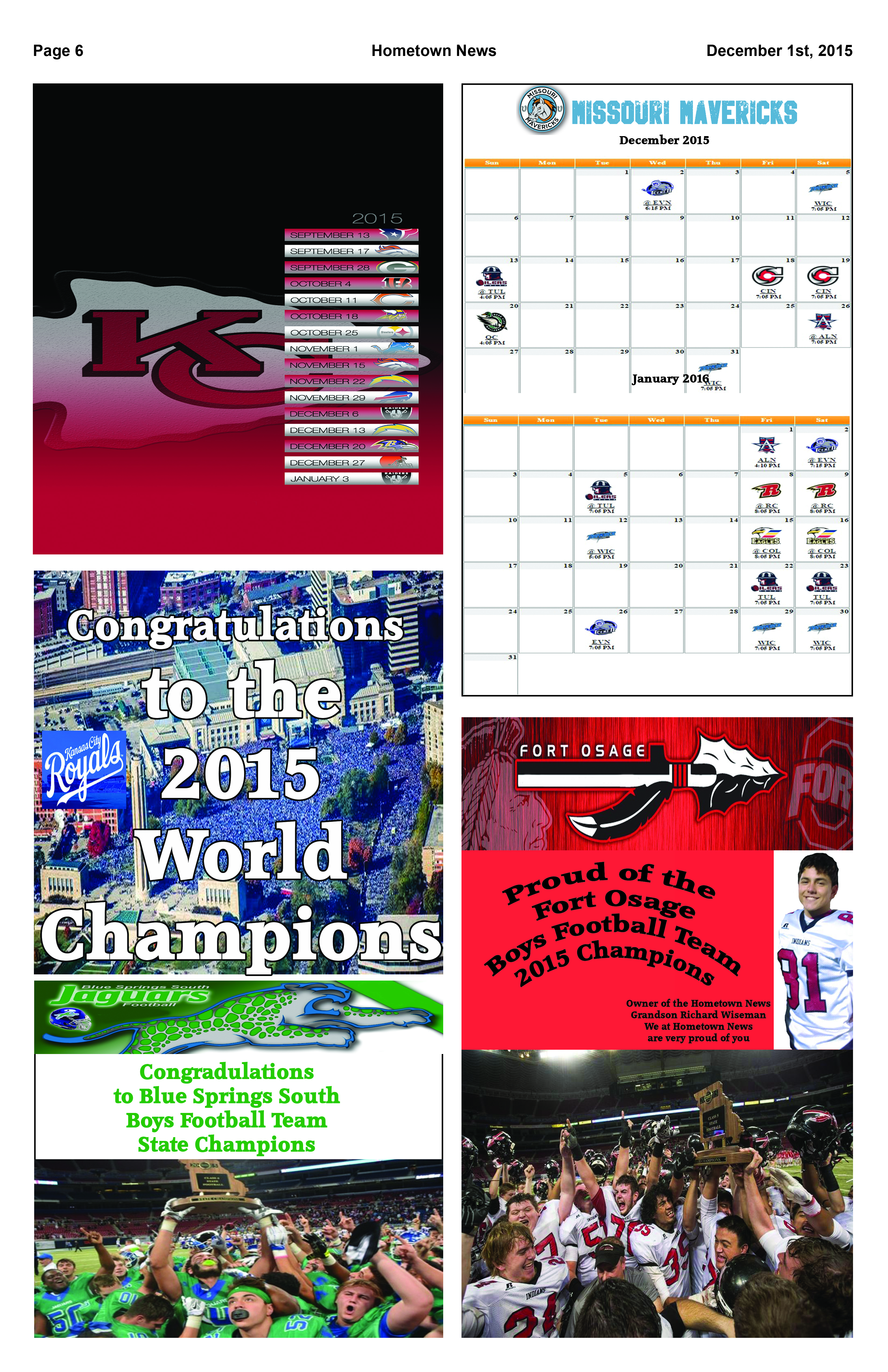 Page 6 Sports