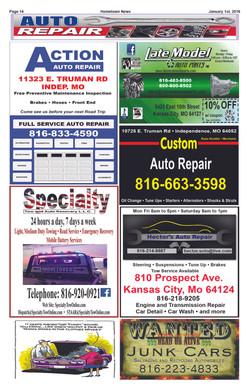 Page 14 Auto Repair