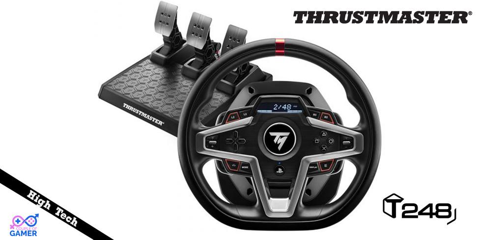 [High Tech][Test] Volant Thrustmaster T248