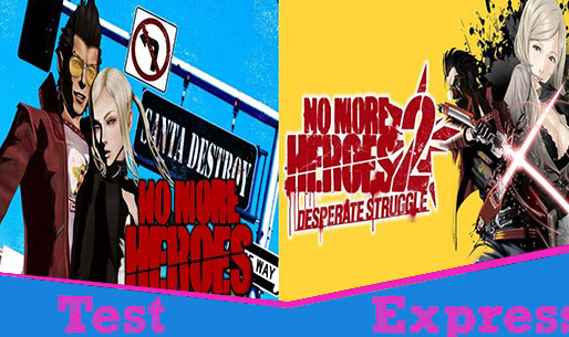[Test Express][Nintendo Switch] No More Heroes 1 & 2