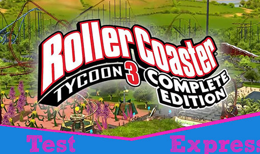 [Test Express][Steam] RollerCoaster Tycoon 3 Complete Edition