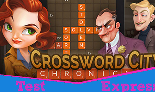 [Test Express][Steam] Crossword City Chronicles