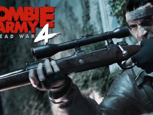 [E3 2019] Les hordes de zombies d'Hitler reviennent dans un 4e Opus avec ZOMBIE ARMY 4: DEAD WAR