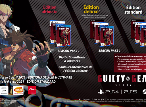 Le dernier épisode de la franchise Guilty Gear -Strive- se date
