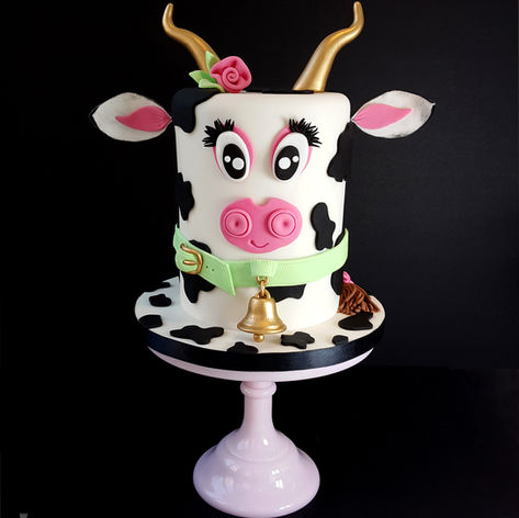 The one & only original Flo the Cow cake!