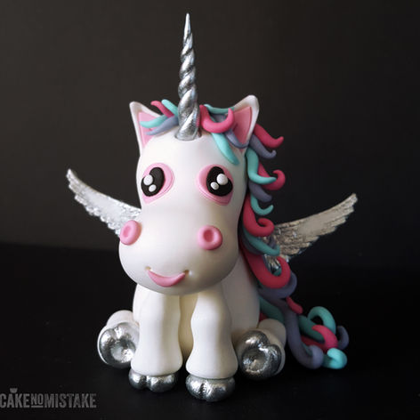 Thoughtful unicorn...