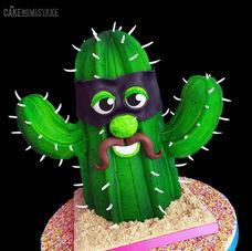 "Mr ""C"" - 3D birthday cake"