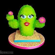 "Mrs ""C"" - 3D birthday cake"