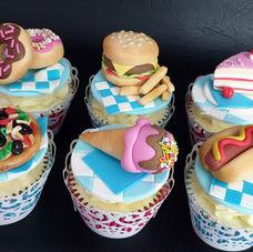 Foodie cupcakes!