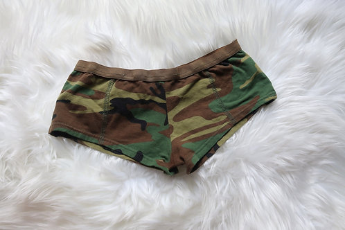 YES SIR! (MILITARY BOOTYSHORTS)