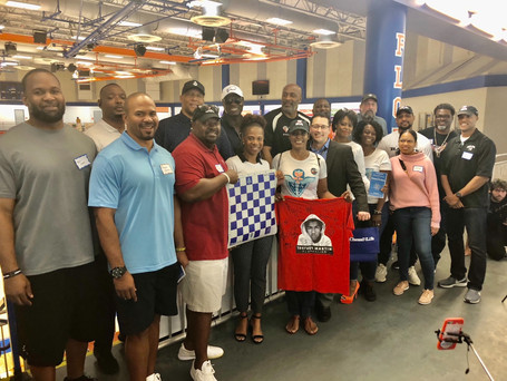 NFL Chess Event benefitting the Trayvon Martin Foundation