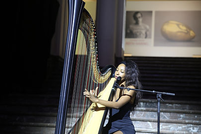 ZEM Harpist Bozar