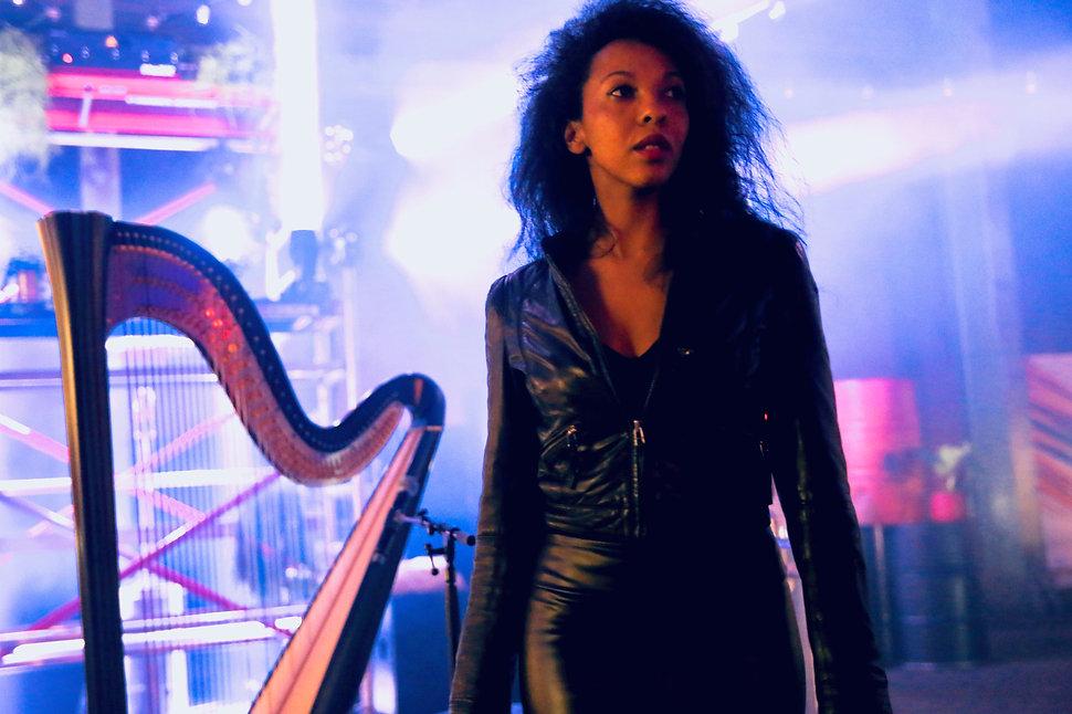Zem singer songwriter Harpist