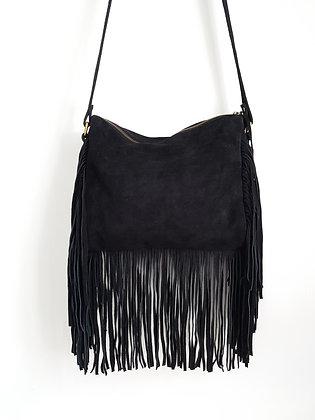 Ryanna Suede Crossbody Bag