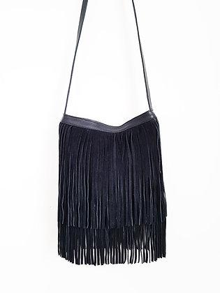 Rhea Suede Crossbody Bag