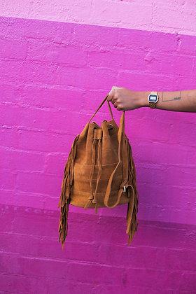 Loa Suede Bucket Bag