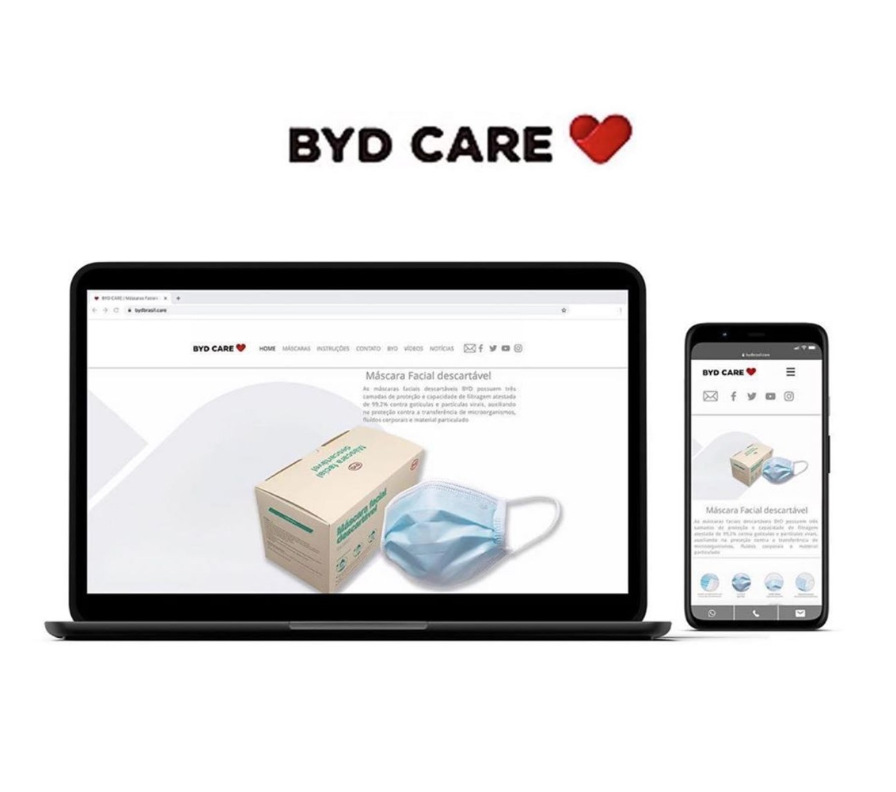 Site BYDBRASIL.CARE