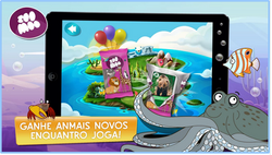 "APP Mobile na TV ""Ilha ZooMoo"""