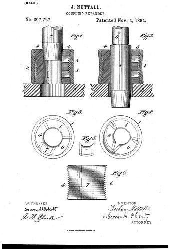 Patent Copy Coupling Expander