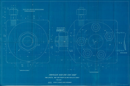 Blueprint Propeller Piece