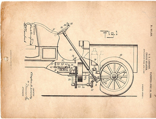Patent Engine Starter