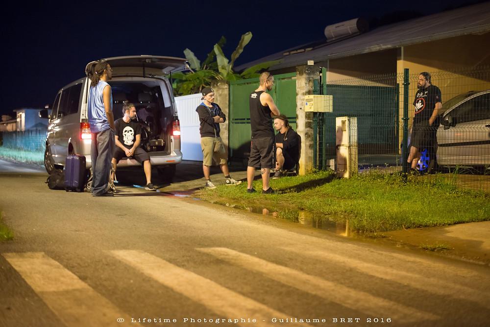Aeons of Disorder : la Guyane exporte son métal. © Lifetime Photographie - Guillaume BRET 2016