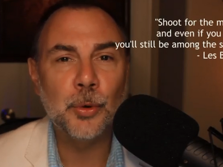 The Daily Dose: Les Brown On Shooting For The Moon