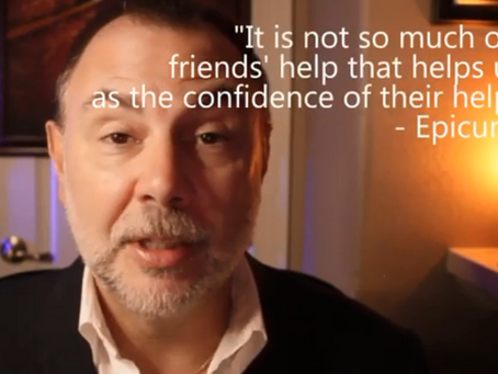 The Daily Dose: Epicurus On Friends' Help