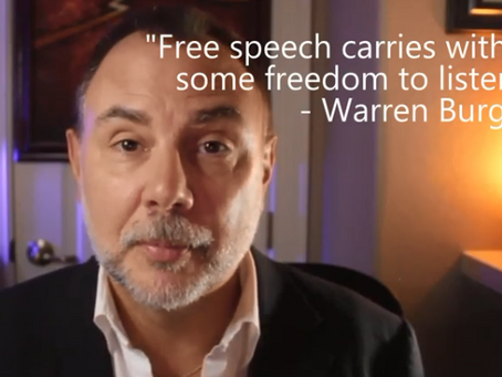 The Daily Dose: Warren Burger On Free Speech