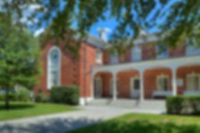 Chapel - outside New England Entrance -