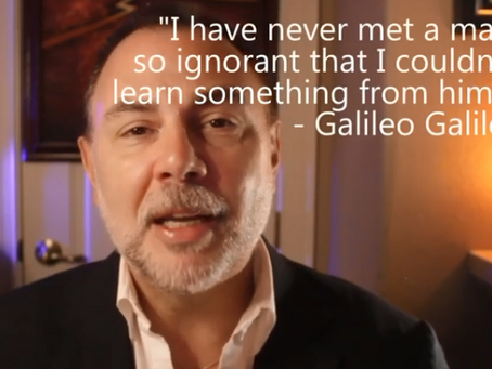 The Daily Dose: Galileo On Learning