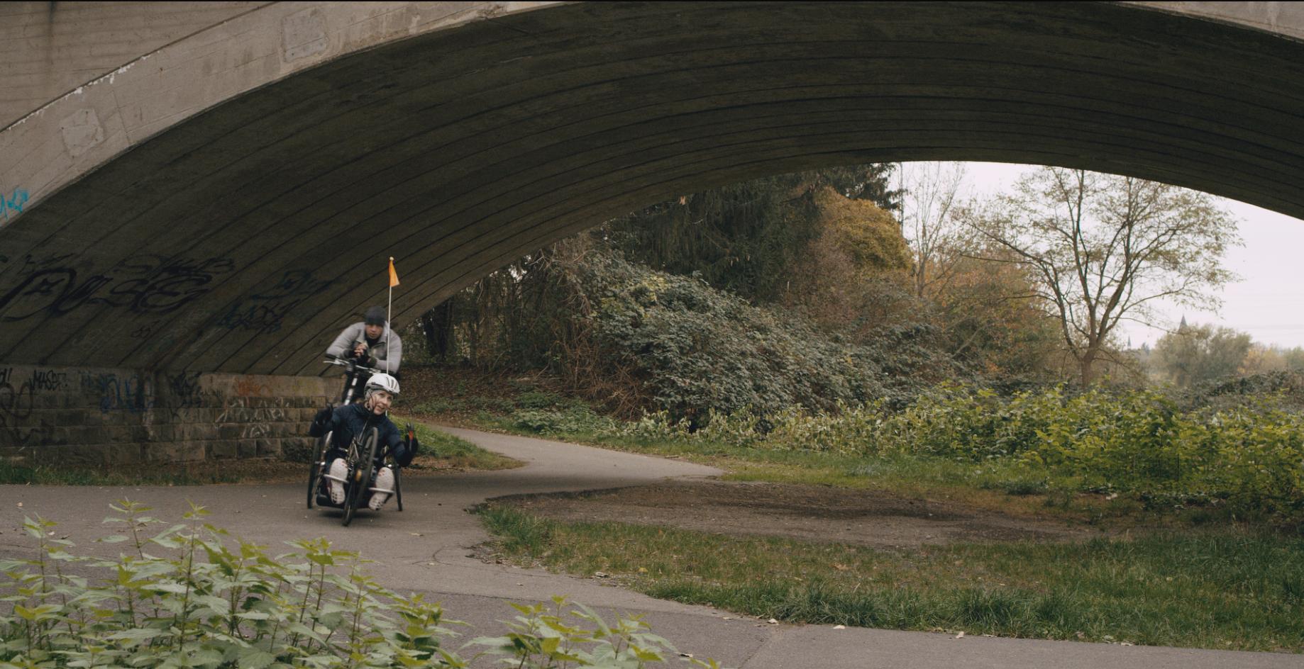 Biking Scene