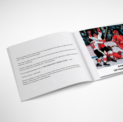 Page from 'The Greatest Jersey Ever' Book