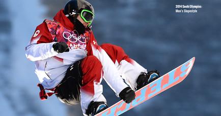2014 Sochi Olympic Canadian Snowboarder