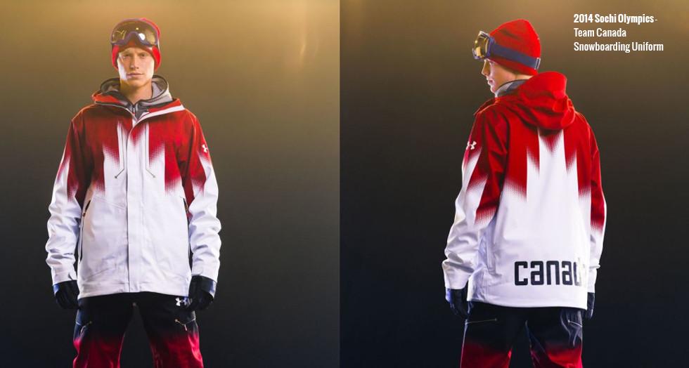 2014 Canadian Snowboarders Uniform