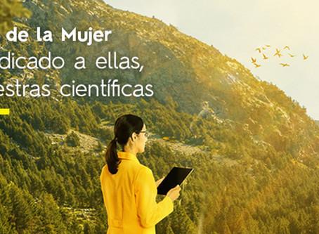 A ellas, nuestras científicas