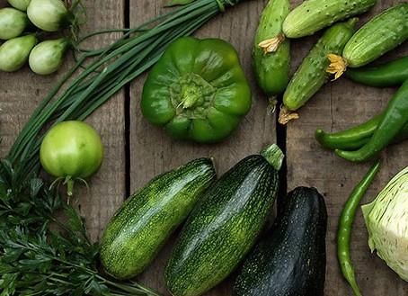 Come verduras de hoja verde y llénate de salud