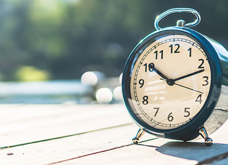 ¡Vuelve el horario de verano!