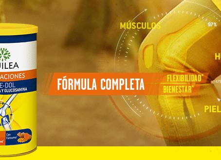 Aquilea Articulaciones Forte-Dol mejora la disolución de sus ingredientes principales