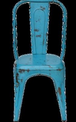 Plåt stol