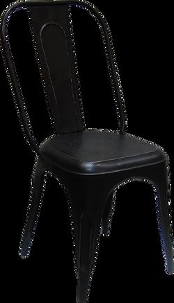Antiksvart stol