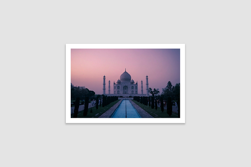 TAJ Mahal Print | Covid Relief India