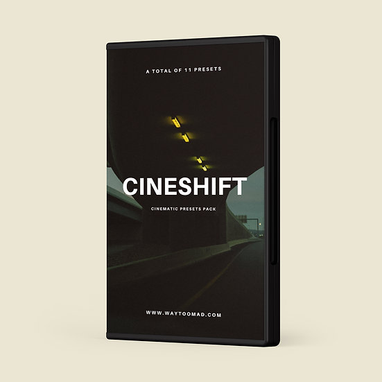 CineShift - Cinematic Presets