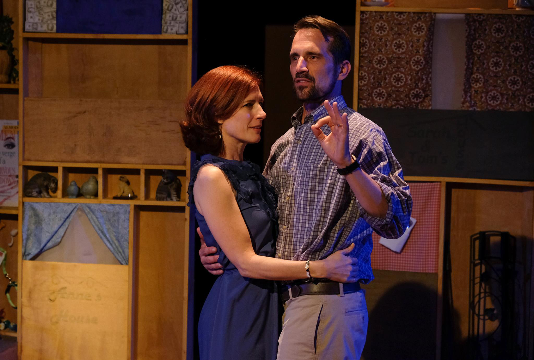 Loves and Hours at Scripps Ranch Theatre. Photo by Ken Jacques